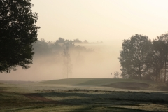 Hole 8 in mist